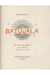MARAN René - Batouala /page de titre