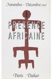 Présence Africaine - 001
