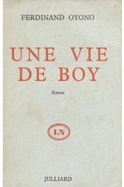 OYONO Ferdinand - Une vie de boy