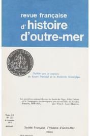 SAINT-MARTIN Yves-Jean - Les premières automobiles sur les bords du Niger: Félix Dubois et la compagnie des transports par automobile au Soudan Français, 1898-1913
