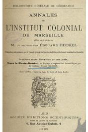 RANCON Docteur André - Dans la haute Gambie. Voyage d'exploration scientifique par _______ . 1891-1892