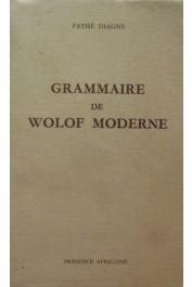 DIAGNE Pathé - Grammaire de Wolof moderne