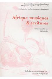 TEULIE Gilles (éditeur) - Afrique, musiques et écritures