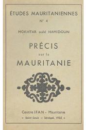 OULD HAMIDOUN Mokhtar - Précis sur la Mauritanie