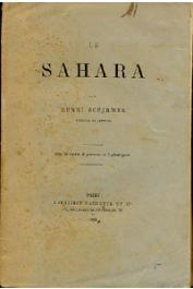 SCHIRMER Henri - Le Sahara