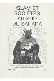 Islam et sociétés au sud du Sahara - 03 - Les conflits au sein de la communauté musulmane du Burkina: 1962-1986 /  La confrérie Tijaniyya Ibrahimiyya de Kano et ses liens avec la zawiya mère de Kaoloack / A la recherche de Sidi Mahmud Al Baghdadi, etc…