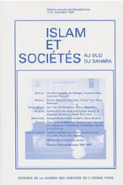 Islam et sociétés au sud du Sahara - 09 - Les mustarshidin du sénégal / Shaikh Mamadu Mamudu of Futa toro / Les Yola du Compony / quatre membres de l'élite comorienne de Marseille / Shaykh Muhammad al-Mâmî, etc…