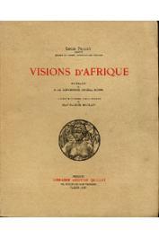 PROUST Louis - Visions d'Afrique