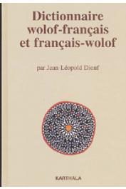 DIOUF Jean-Leopold - Dictionnaire wolof-français et français-wolof
