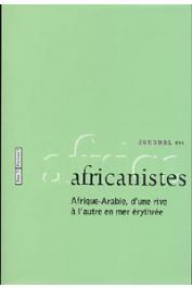 Journal des Africanistes - Tome 72 - fasc. 2 - Afrique-Arabie, d'une rive à l'autre en mer Erythrée