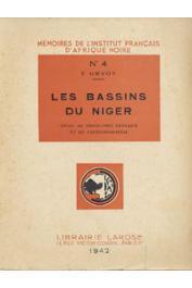 URVOY Yves - Les bassins du Niger. Etude de géographie physique et de paléographie