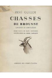 GUILLOT René - Chasses de brousse. Savanes et sortilèges