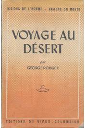RODGER George - Voyage au désert (Desert journey)