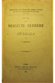 BIARNAY S. - Etude sur le dialecte berbère de Ouargla