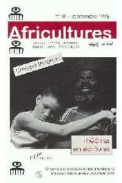 Africultures 10 - Théâtres en écritures
