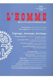 L'Homme - 148 - Lignage, mariage, héritage