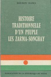 BOUBOU HAMA - Histoire traditionnelle d'un peuple: les Zarma-Songhay
