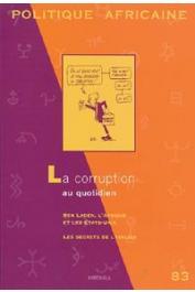 Politique africaine - 083 - La corruption au quotidien