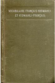BRUTEL E. - Vocabulaire Français-Kiswahili et Kiswahili-Français précédé d'une grammaire élémentaire
