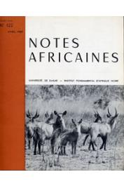 Notes Africaines - 122