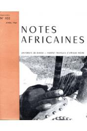 Notes Africaines - 102