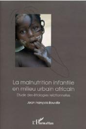 BOUVILLE Jean-François - La malnutrition infantile en milieu urbain africain. Etude des étiologies relationnelles