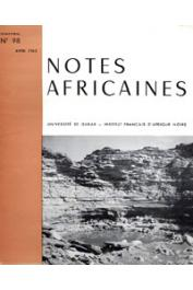 Notes Africaines - 098