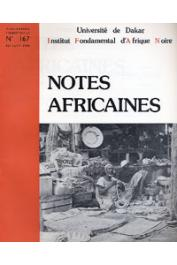 Notes Africaines - 167