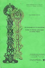 TERSIS-SURUGUE Nicole - Economie d'un système. Unités et relations syntaxiques en zarma (Niger)