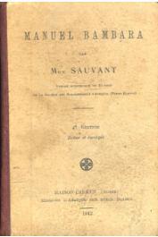 SAUVANT Mgr. - Manuel Bambara. 4eme édition revue et corrigée