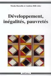 BOCCELLA Nicola, BILLI Andrea (Editeurs) - Développement, inégalités, pauvretés