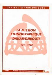 Cahiers Ethnologiques N°5 - 1984 (nouvelle série) - La Mission Ethnographique Dakar-Djibouti 1931-1933