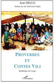 DELLO Jean - Proverbes et contes Vili. République du Congo