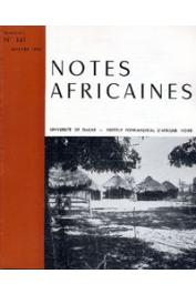 Notes Africaines - 141