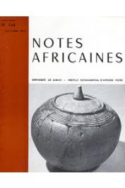 Notes Africaines - 144