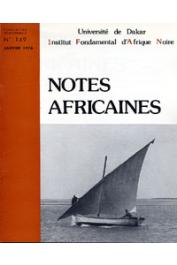 Notes Africaines - 149