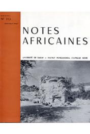 Notes Africaines - 113