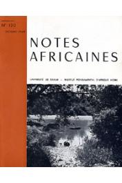 Notes Africaines - 120