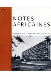 Notes Africaines - 129