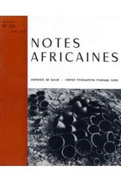 Notes Africaines - 134