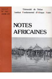 Notes Africaines - 161