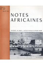 Notes Africaines - 107