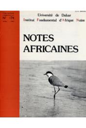 Notes Africaines - 174