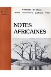 Notes Africaines - 153