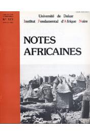 Notes Africaines - 177
