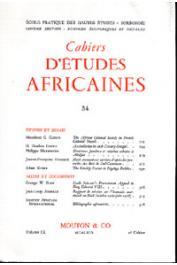 Cahiers d'études africaines - 034