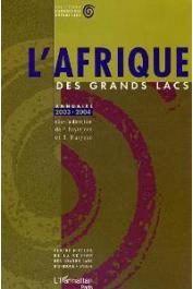 L'Afrique des Grands Lacs - Annuaire 2003-2004