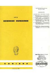 Cahiers ORSTOM sér. Sci. hum., vol. 06, n° 2 - Les petites villes de Côte d'Ivoire (2eme partie)