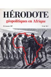 Hérodote 046 - Géopolitiques en Afrique