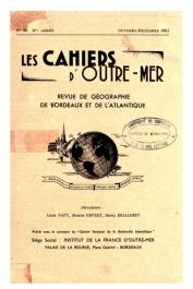 Les Cahiers d'Outre-Mer - 4-16 / 1951